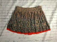 American Eagle Outfitters Paint Splatter Pleated Mini Skirt Women's Size 2