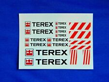 Échelle 1:50 Terex Clear Inkjet Waterslide Decals, Transport Lourd TEKNO * Code 3 *