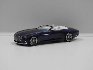1:43 Vision Mercedes-Maybach 6 Cabriolet (Blue) Schuco 45 090 0200