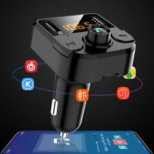 Trasmettitore FM per Auto Bluetooth Lettore Musicale Caricatore di Tensione