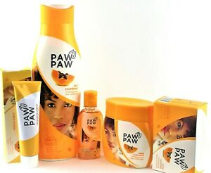 Paw Paw Papaya Clarifying Lotion, Tube Cream, Jar Cream,Oil and soap