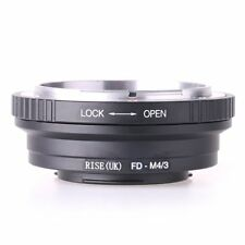 Canon FD Lens to Micro M43 M4/3 4/3 Adapter Panasonc GX2 GX7 GM1 GM5 GF7 GH4