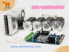 USA is free!Wantai 4Axis kit Nema23 Stepper Motor 3A 270oz-in&4Axis Driver Board