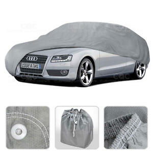 Car Cover for Audi A5 08-14 Outdoor Breathable Sun Dust Proof Auto Protection