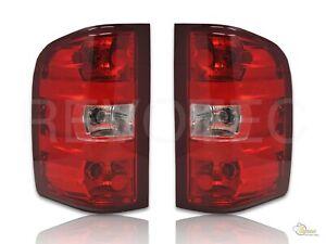 07-13 Chevy Silverado 1500 2500 Pickup Red OE Style Tail Lights 1 Pair
