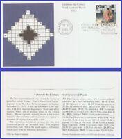 US #3183l U/A MYSTIC FDC   1910 Crossword Puzzle First