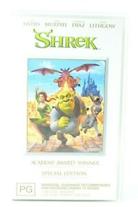 Shrek Special Edition Video Cassette VHS VGC