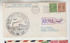 UNITED STATES, 1931 Grand Forks to Pembina ND ffc.