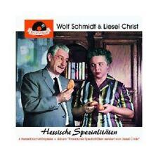 WOLF SCHMIDT & LIESEL CHRIST - HESSISCHE SPEZIALITÄTEN  CD  HÖRSPIEL  NEU