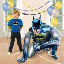 "BATMAN HERO JUMBO 44"" AIRWALKER FOIL BALLOON BIRTHDAY PARTY SUPPLIES DECORATION"