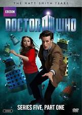 DOCTOR WHO: SERIES FIVE--PART ONE (2010,, 2-DVD Set)--Matt Smith--NEW