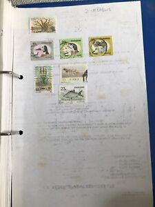 7 Stamps Of Zimbabwe 1986 To 1989