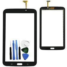 Negro Toque Screen Vaso Digitizer Parte Para Samsung Galaxy Tab 3 7.0 P3210 T210