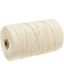 3mm x 200m Macrame Cotton Cord for Wall Hanging Dream Catcher