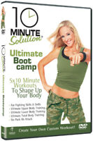10 Minute Solution: Ultimate Bootcamp DVD (2010) Jessica Smith cert E ***NEW***