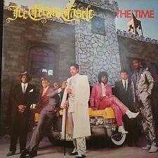 THE TIME ICE CREAM CASTLE LP PRINCE 1984 WARNER BROS 25109-1 BLACK INNER