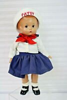 Effanbee Doll Patsy Sailor #V565 Exact Replica 1997 Stand COA Tag Box NOS