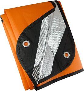 UST Survival Blanket/Tarp Windproof & Waterproof Material for Outdoor Emergency