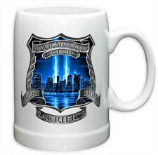LAW ENFORCEMENT - 9/11 TRIBUTE - BEER STEIN MUG - BRAND NEW 20 OUNCES FF2092PS