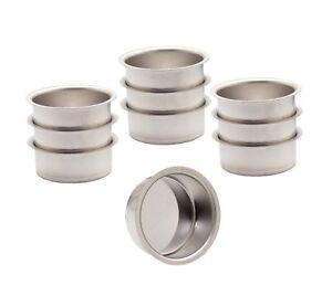 Teelicht Tülle Teelichthalter Weißblech 40 mm