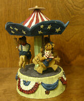 Boyds Bearstone #227810 Martha, Dolly and George CIRCUS New from Retail Store