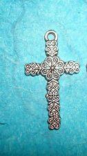 Pendant Cross Charm Symbolic Charm Religious Charm Spiritual Charm Rosary Charm