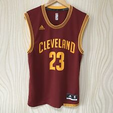 CLEVELAND CAVALIERS LEBRON JAMES BASKETBALL SHIRT JERSEY ADIDAS