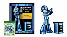 Mega Man Statue & E-Tank with Mega Man Legacy Collection Game - Xbox One Special