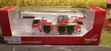 Feuerwehr Düsseldorf,herpa 1:87,Feuerwehr Kran,modellauto herpa H0,1/87 (33)