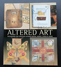 Altered Art Terry Taylor How To Create Books Boxes Cards Paper Items More Photos