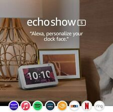 Echo Show 5 (1st Gen, 2019 release) -- Smart display with Alexa – stay connected
