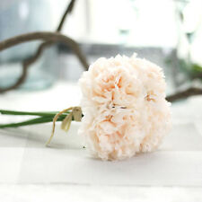 Artificial Bouquet Peony 5 Heads Silk Flower Fake Leaf Home Wedding Party Decor