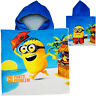 Bath Poncho/Hooded Towel - Minions - Despicable Me - 100% Construction