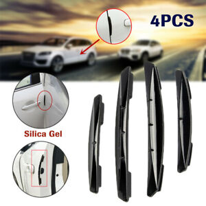 1 Set Car Door Edge Guard Strips Scratch Protector Anti-collision Molding Trims