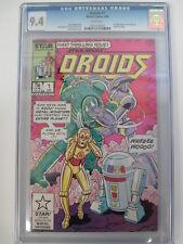 Star Wars Droids #1 CGC 9.4 NM Marvel Comics C-3PO R2-D2 1986
