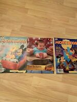Vintage Lot Mickey Mouse Magazine Back Issues 1988 1991 Walt Disney