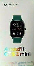 Amazfit GTS 2 mini smartwatch unisexe GPS SpO2 waterproof 5 ATM vert-green