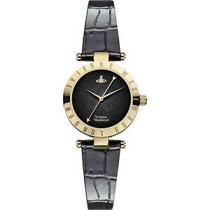 Vivienne Westwood Westbourne II Gold Plated Ladies Watch VV092BKBK RRP £199 SALE