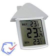 Velleman thermomètre digital intérieur et extérieur.89,5 x97,5 x20 mm écran LED