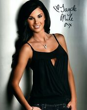 Jayde Nicole Signed Photo 8x10 246A Playboy Playmate of the Year 2008 Centerfold