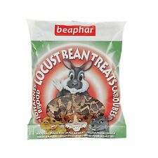 Beaphar Small Animal LOCUST BEAN TREATS Hamster Rabbit Guinea Natural Treat 85gm