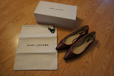 Marc Jacobs Wave Nappa Leather Flat size 38.5- BNIB