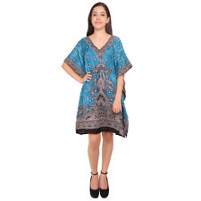 Nightwear Maxi For Women'S Short Kaftan Bohemian Casual Dress