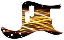 P Bass Precision Pickguard Custom Fender 13 Hole Guitar Pick Guard Abstract 8