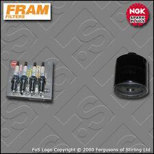KIT di servizio per VW Polo (6N) 1.0 8V aiuti AUC FRAM FILTRO OLIO TAPPI (1999-2001)