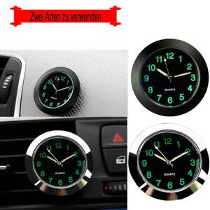 Mini Uhr  Kfz Auto Zeitanzeige Autouhr Nachtleuchtende Zeituhr Quarzuhr Digital