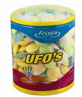 Astra UFO'S Frisia Sherbet Flying Saucers Party Tub Retro Sweets Pack of 300 Pcs