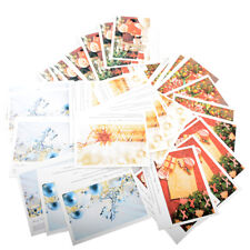 108*90mm Vintage Christmas Greeting Paper Cards DIY Gift Xmas Festival Beautiful