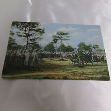 Ww1 Era Imperial German Postcard Posted 1916 Soldiers in Field Free Shipping!