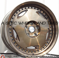 18x9 Varrstoen MK6 5x120 +30 Bronze Wheels (Set of 4)
